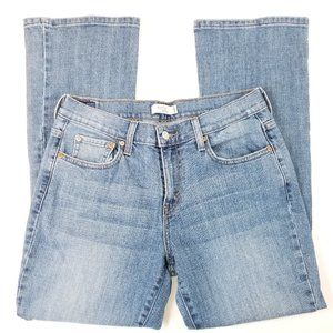 Levi's 515 Boot Cut Blue Denim Jeans 8 Short